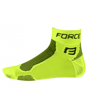 FORCE CALCETINES FLUO-BLACK