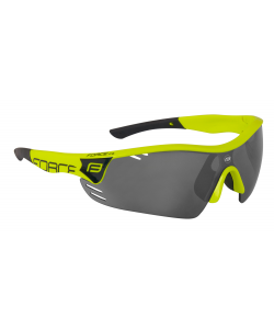 FORCE GAFAS RACE PRO WHITE RED LENS