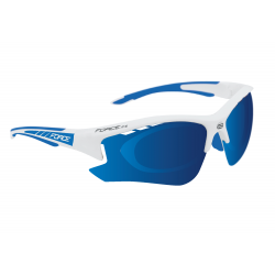 FORCE GAFAS F.RIDE WHITE+BLUE+CLIP