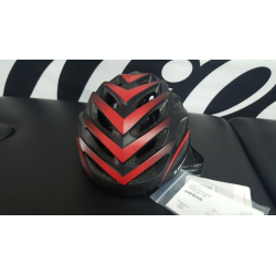 CASCO LIVALL  COLOR NEGRO ROJO 2018