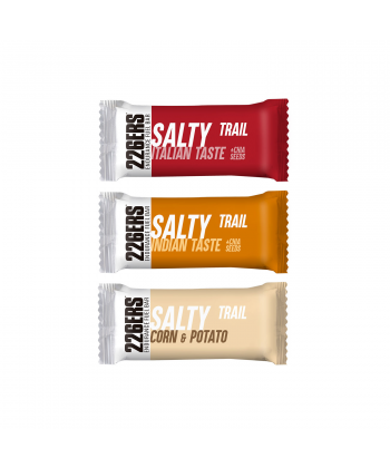 ENDURANCE FUEL BAR SALTY TRAIL 226ERS CAJA